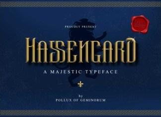 Hassengard Font