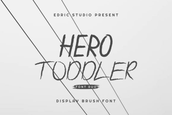 Hero Toddler Font