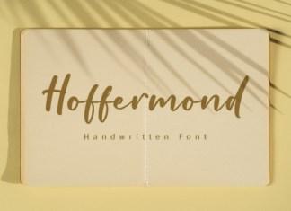 Hoffermond Font