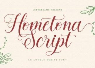 Hometona Font