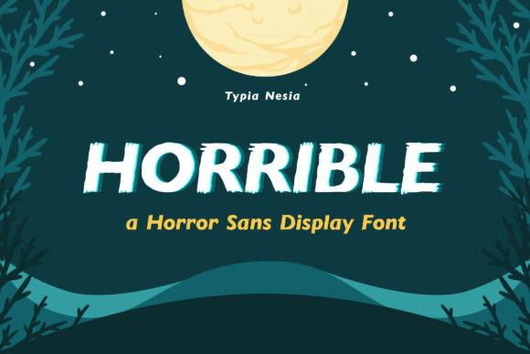 Horrible Font