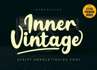Inner Vintage Font