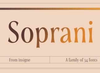 Soprani Font