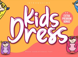 Kids Dress Font