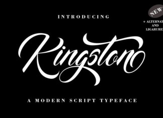 Kingston Font