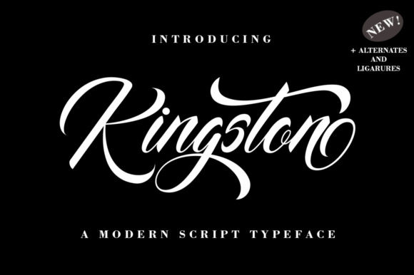 Kingston Font