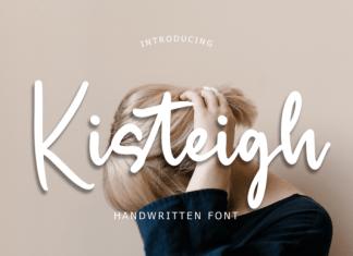 Kisteigh Font