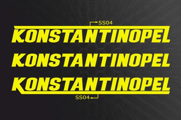 Konstantinopel Font