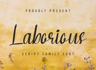 Laborious Font