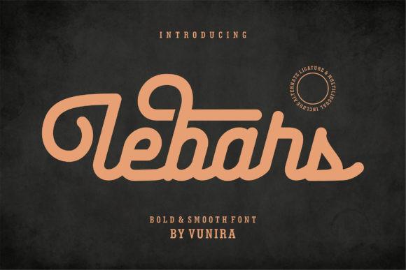 Lebars Font