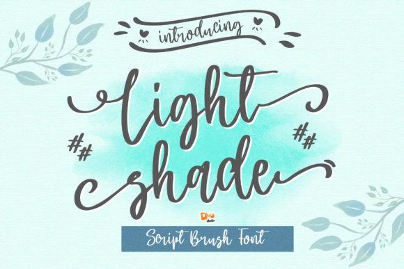 Light Shade Font