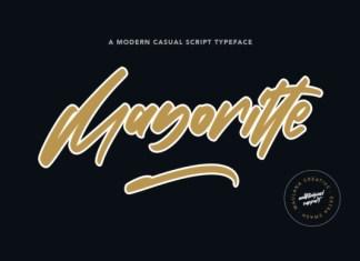 Mayoritte Font