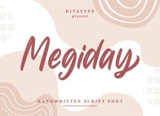 Megiday Font