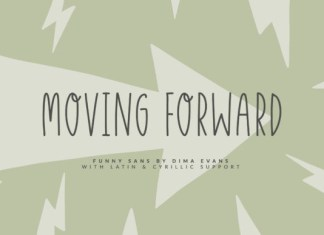 Moving Forward Font
