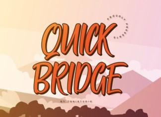 Quick Bridge Font