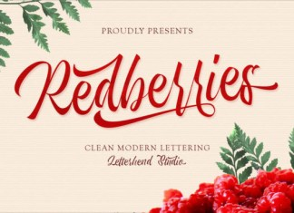 Redberries Font