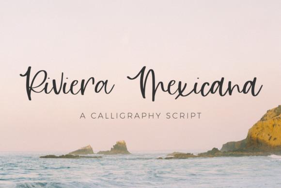 Riviera Mexicana Font