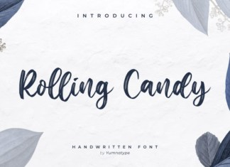 Rolling Candy Font