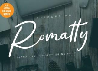 Romatty Font