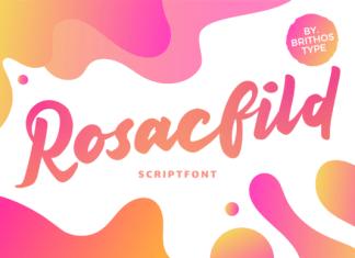 Rosacfild Font