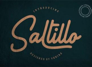 Saltillo Font
