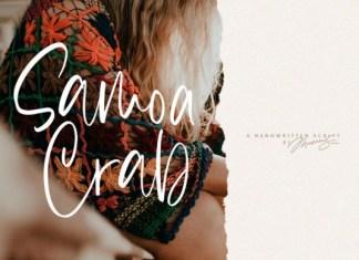 Samoa Crab Font