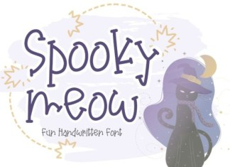 Spooky Meow Font