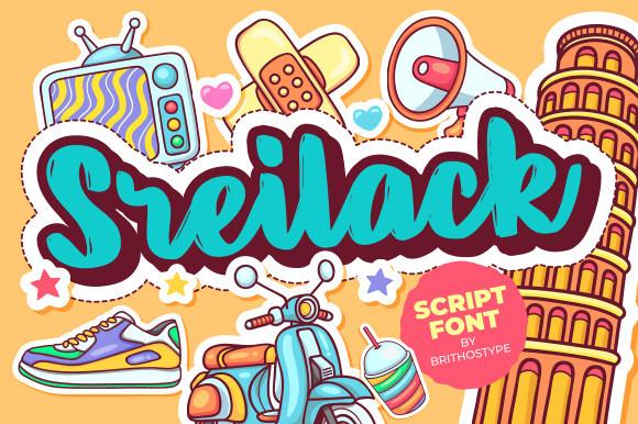 Sreilack Font