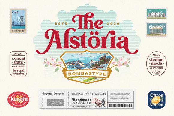 The Alstoria Font