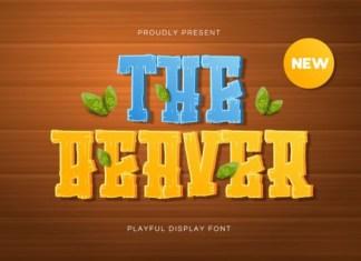 The Beaver Font