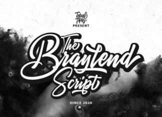 The Braylend Script Font
