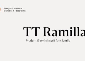 TT Ramillas Font