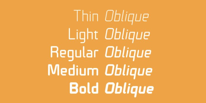 Technical Rounded VP Font