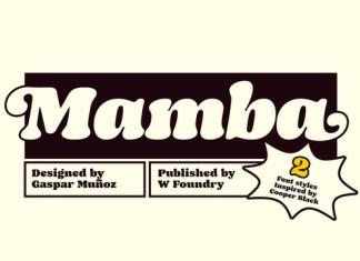 Mamba Font