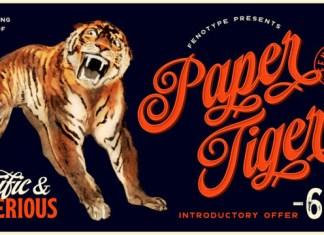 Paper Tiger Font
