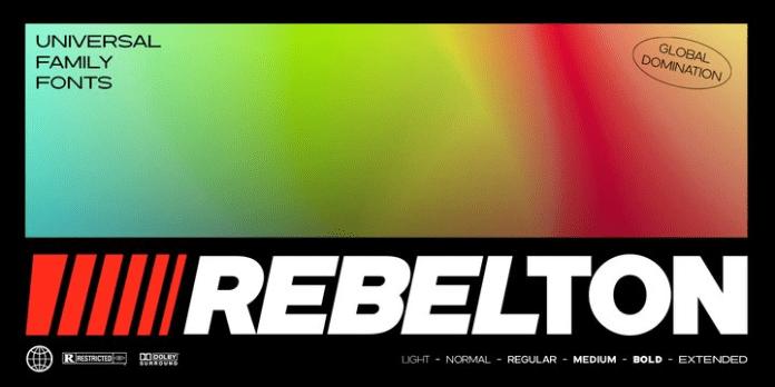 Rebelton Font