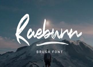 Raebrush Font
