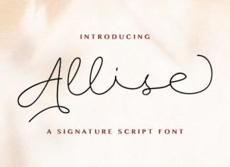 Allise Font