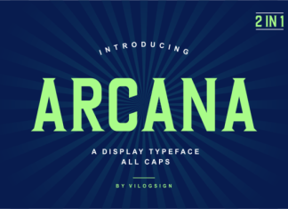 Arcana Font