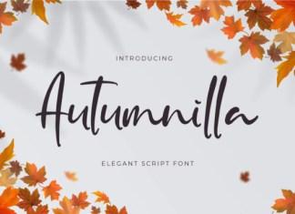 Autumnilla Font