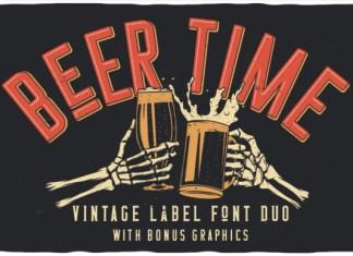 Beer Time Font