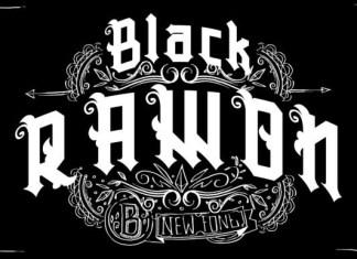Black Rawon Font