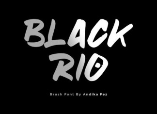 Black Rio Font