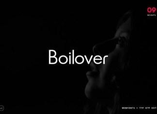 Boilover Font