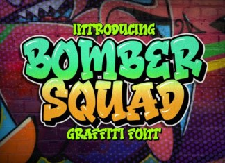 Bomber Squad Font