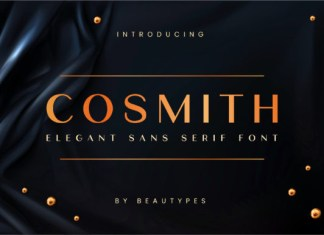 Cosmith Font