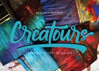 Creatours Font