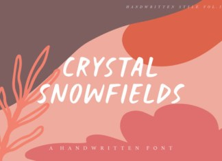 Crystal Snowfields Font