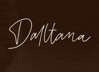 Daltana Font