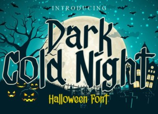 Dark Cold Night Font